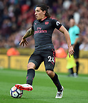 Hector Bellerin of Arsenal during the premier league match at the Britannia Stadium, Stoke. Picture date 19th August 2017. Picture credit should read: Robin Parker/Sportimage