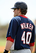 March 22, 2010:  Jack Walker of the Washington Nationals organization during Spring Training at the Carl Barger Training Complex in Melbourne, FL.  Photo By Mike Janes/Four Seam Images
