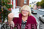 Ann Conway from Shanakill, Tralee is delighted after winning two tickets in the Kerry's Eye competition to see the Kerry Blues in concert this November.