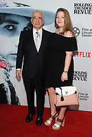 NEW YORK, NY - JUNE 10: Martin Scorsese and Francesca Scorsese at the Netflix World Premiere of Rolling Thunder Revue: A Bob Dylan Story By Martin Scorsese at Alice Tully Hall in New York City on June 10, 2019. <br /> CAP/MPI/JP<br /> ©JP/MPI/Capital Pictures