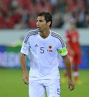 Fussball International  WM Qualifikation 2014   11.09.2012 Schweiz - Albanien Lorik Cana (Albanien)
