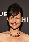 "Carla Gugino Attends the Broadway Opening Night Arrivals for ""Burn This"" at the Hudson Theatre on April 15, 2019 in New York City."