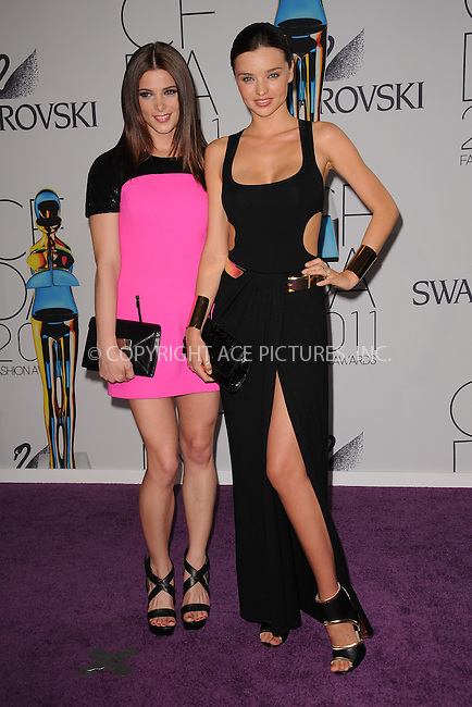 WWW.ACEPIXS.COM . . . . . .June 6, 2011...New York City..... Ashley Greene and Miranda Kerr attend the 2011 CFDA Fashion Awards at Alice Tully Hall, Lincoln Center on June 6, 2011 in New York City......Please byline: KRISTIN CALLAHAN - ACEPIXS.COM.. . . . . . ..Ace Pictures, Inc: ..tel: (212) 243 8787 or (646) 769 0430..e-mail: info@acepixs.com..web: http://www.acepixs.com .