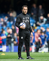 Watford first team coach Goncalo Pedro ahead of the Premier League match between Chelsea and Watford at Stamford Bridge, London, England on 21 October 2017. Photo by Andy Rowland.
