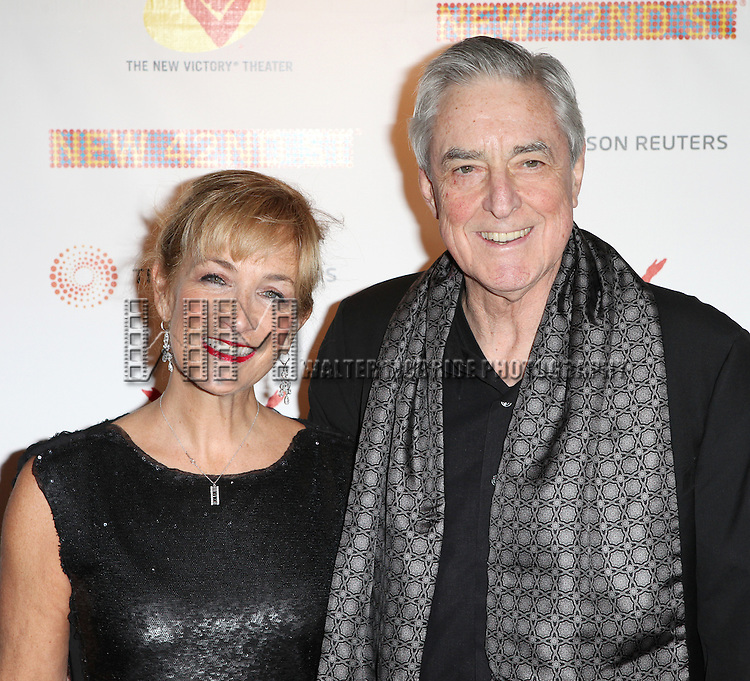Julie Scanlan & Philip Scanlan. attending the New 42nd Street Gala at The New Victory Theater in New York City on December 5, 2012