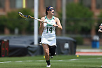 RICHMOND, VA - APRIL 27: Notre Dame's Heidi Annaheim. The Notre Dame Fighting Irish played the Boston College Eagles on April 27, 2017, at Sports Backers Stadium in Richmond, VA in an ACC Women's Lacrosse Tournament quarterfinal match. Boston College won the game 17-14.