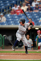 Lakeland Flying Tigers Jon Rosoff (29) at bat during a Florida State League game against the Clearwater Threshers on May 14, 2019 at Spectrum Field in Clearwater, Florida.  Clearwater defeated Lakeland 6-3.  (Mike Janes/Four Seam Images)