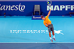 MADRID, ESPAÑA - DECEMBER 22: during the friendly match between rafael Nadal and Roger Federer at La Caja Mágica in Madrid December 22. (Foto: Marc Etxebarria).
