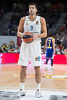 Real Madrid Felipe Reyes during Turkish Airlines Euroleague match between Real Madrid and Khimki Moscow at Wizink Center in Madrid, Spain. November 02, 2017. (ALTERPHOTOS/Borja B.Hojas) /NortePhoto.com