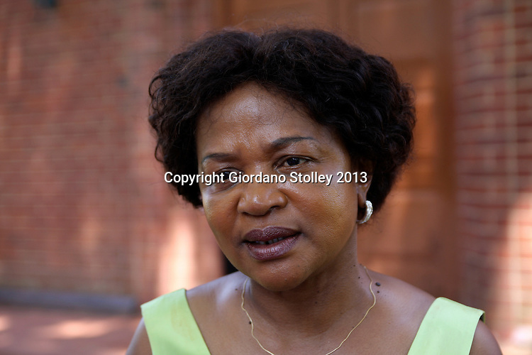 DURBAN - 8 January 2013 - Baleka Mbete, the national chairperson of the African National Congress, speaks to the media at the Inanda Seminary in Durban.. Picture: Giordano Stolley/Allied Picture Press/APP