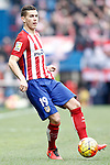 Atletico de Madrid's Lucas Hernandez during La Liga match. February 6,2016. (ALTERPHOTOS/Acero)