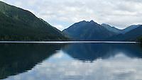 Lake Crescent, Olympic National Park, Washington State.