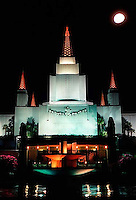 Oakland LDS  Temple, 1987.  &amp;#xA;<br />