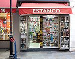 Estanco duty free shop, Gibraltar, British overseas territory in southern Europe