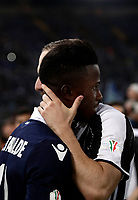 Football Soccer - Juventus - Lazio - Italian Cup Final - Olympic Stadium, Rome, Italy, May17,2017.<br /> Juventus' Gonzalo Higuain (r) greets Lazio's Keita Balde (l) at the end of the Italian Cup Final match between Juventus and Lazio at Rome's Olympic stadium, on May 17, 2017.<br /> UPDATE IMAGES PRESS/Isabella Bonotto