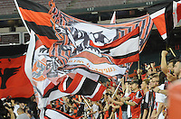 D.C. United fans.  D.C. United defeated the Colorado Rapids 2-0 at RFK Stadium, Wednesday May 16, 2012.