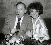 Mel Brooks and wife #AnnBancroft Undated<br /> Photo By John Barrett/PHOTOlink