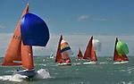 04.08.2017 Lendy Cowes Week Sailing All classes <br /> Squib class boats