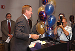 Ray Jenkins, seen at the retirement Celebration for Tony Marro held at Melville Office of Newsday on Tuesday, August 12, 2003. (Photo / Jim Peppler).