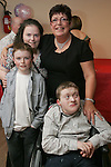 Jacinta Maguires at her 50th in the Rugby Club with Alex, Rachel and nephew David...Photo NEWSFILE/Jenny Matthews.(Photo credit should read Jenny Matthews/NEWSFILE)....This Picture has been sent you under the condtions enclosed by:.Newsfile Ltd..The Studio,.Millmount Abbey,.Drogheda,.Co Meath..Ireland..Tel: +353(0)41-9871240.Fax: +353(0)41-9871260.GSM: +353(0)86-2500958.email: pictures@newsfile.ie.www.newsfile.ie.FTP: 193.120.102.198.