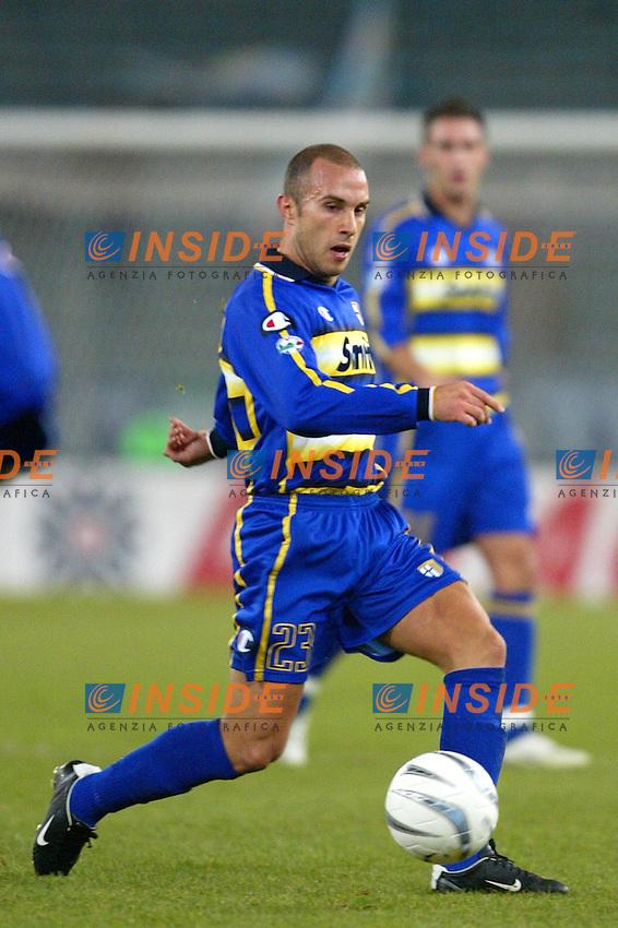 Roma 14/1/2004 - Coppa Italia<br /> Lazio Parma 2-0<br /> Mark Bresciano (Parma)<br /> Foto Andrea Staccioli Insidefoto
