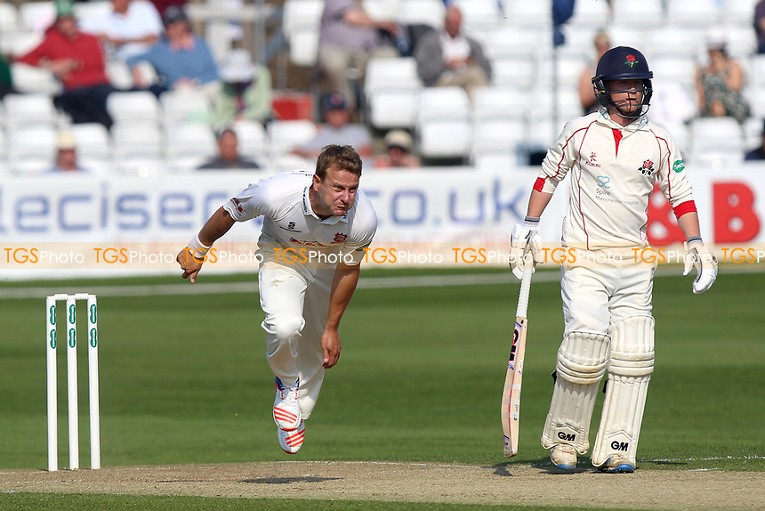 Neil Wagner in bowling action for Essex during Essex CCC vs Lancashire CCC, Specsavers County Championship Division 1 Cricket at The Cloudfm County Ground on 8th April 2017