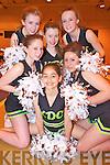 Pictured at the fundraising night for KDC Southern Scorchers cheerleaders, in the Presentation gym, Killarney on Sunday evening were Leah Lyne, Katelyn Moynihan, Rachel Randles, Tara Casey, Erica Webber and Tegan O'Riordan.