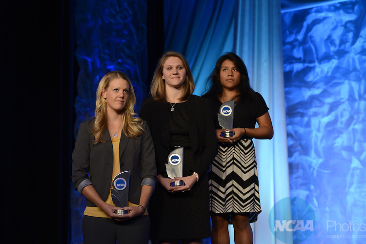 20 OCT 2013: The 2013 Woman of the Year awards dinner held in Indianapolis, IN. Justin Tafoya/NCAA Photos