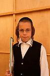 Israel, Bnei Brak. A boy from the Premishlan congregation, 2005<br />
