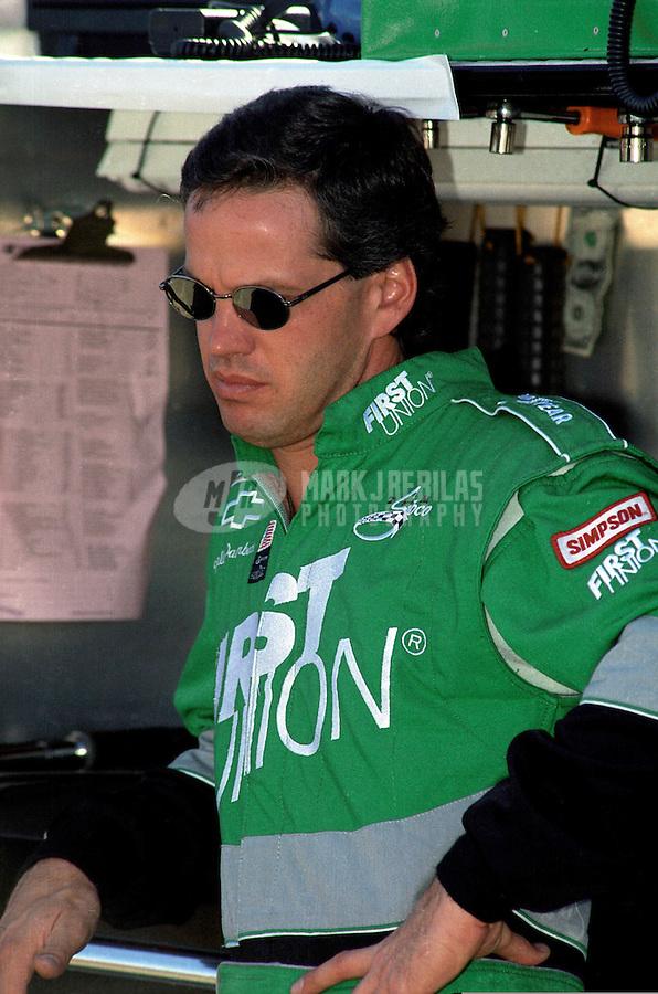 Nov. 1, 1997; Avondale, AZ, USA; NASCAR Winston Cup Series driver Wally Dallenbach during the Dura Lube 500 at Phoenix International Raceway. Mandatory Credit: Mark J. Rebilas-