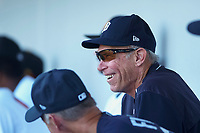 Alan Trammell, of the Detroit Tigers organization, watches an Arizona Fall League game between the Mesa Solar Sox and the Scottsdale Scorpions on October 24, 2017 at Sloan Park in Mesa, Arizona. The Scorpions defeated the Solar Sox 3-1. (Zachary Lucy/Four Seam Images)