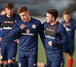 19.3.2018: Scotland u21 training:<br /> Greg Docherty and Stevie Mallan