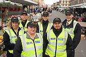 City Guardians team employed by Westminster Council, in Church Street market