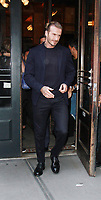 NEW YORK, NY September 10, 2017 David Beckham at Balthazar Restaurant  in New York September 10,  2017.<br /> CAP/MPI/RW<br /> &copy;RW/MPI/Capital Pictures