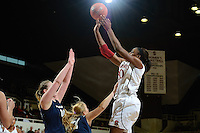 STANFORD, CA - November 5, 2011: Stanford University women's basketball competes against Vanguard at Maples Pavilion in Stanford, California.  Stanford won, 100-54.