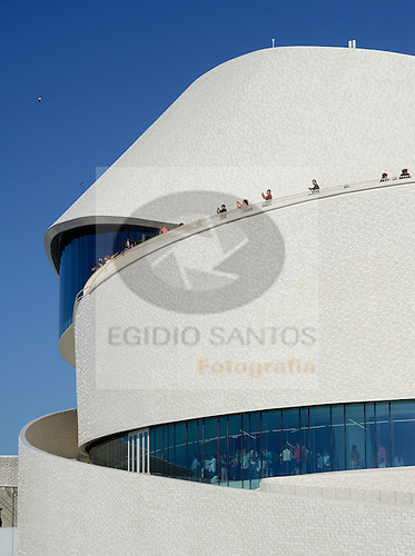 New building of Leix&otilde;es Cruise Terminal.<br /> 2015