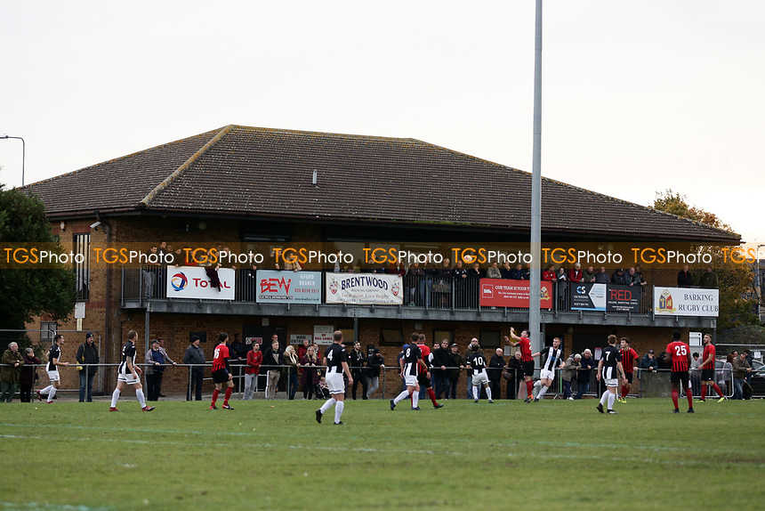 General view of the action during May & Baker vs Swaffham Town, Buildbase FA Vase Football at Gale Street on 4th November 2018
