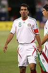21 June 2007:  Mexico's Pavel Pardo. The National Team of Mexico defeated Guadeloupe 1-0  in a CONCACAF Gold Cup Semifinal match at Soldier Field in Chicago, Illinois.