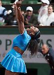 Serena Williams defeated Kristina Mladenovic 6-4, 7-6,