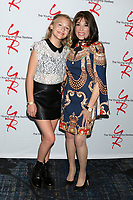 LOS ANGELES - JUN 23:  Alyvia Alyn Lind, Kate Linder at the Young and The Restless Fan Club Luncheon at the Marriott Burbank Convention Center on June 23, 2019 in Burbank, CA