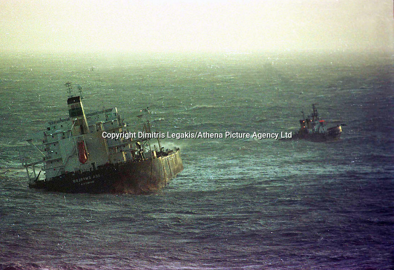Pictured: The Sea Empress<br />