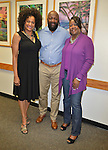 MIAMI, FL - FEBRUARY 06: Traci Cloyd, Tracy Martin and Sybrina Fulton backstage during the signing of their book 'Rest In Power: The Enduring Life Of Trayvon Martin' at Miami Dade College on February 6, 2017 in Miami, Florida. ( Photo by Johnny Louis / jlnphotography.com )
