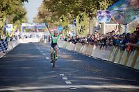 Sophie de Boer (NLD) takes the win<br /> <br /> Koppenbergcross 2014