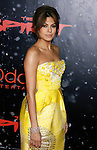 "HOLLYWOOD, CA. - December 17: Actress Eva Mendes arrives at the Los Angeles premiere of ""The Spirit"" at the Grauman's Chinese Theater on December 17, 2008 in Hollywood, California."