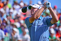 Steve Stricker (USA) watches his tee shot on 1 during Saturday's round 3 of the 117th U.S. Open, at Erin Hills, Erin, Wisconsin. 6/17/2017.<br /> Picture: Golffile | Ken Murray<br /> <br /> <br /> All photo usage must carry mandatory copyright credit (&copy; Golffile | Ken Murray)