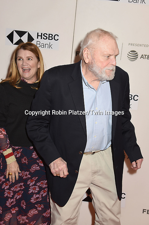 "actor Mare Winningham and Brian Dennehy attend ""The Seagull"" Screening at the Tribecca Film Festival at BMCC on April 21, 2018 in New York City, New York, USA.<br /> <br /> photo by Robin Platzer/Twin Images<br />  <br /> phone number 212-935-0770"