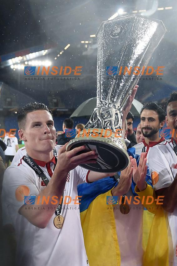 Mg Basilea (Svizzera) 18/05/2016 - finale Europa League / Liverpool-Siviglia / foto Matteo Gribaudi/Image Sport<br /> nella foto: Kevin Gameiro