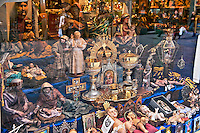 Religious articles shop, Madrid, Spain