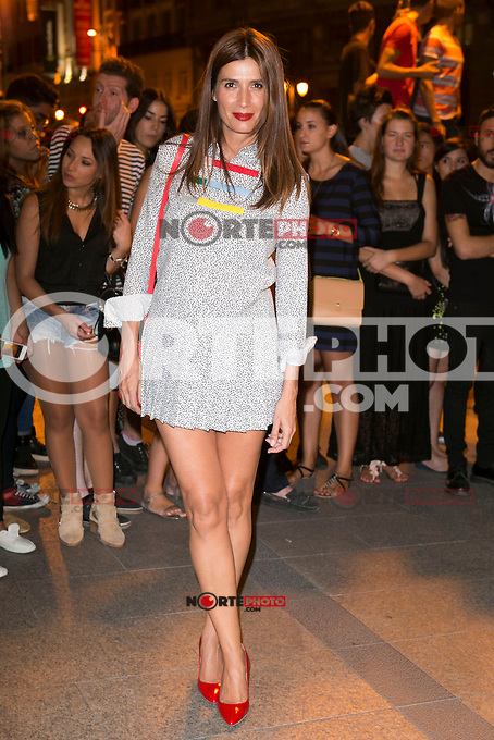 Elia Galera attends the party of Nike and Roberto Tisci at the Casino in Madrid, Spain. September 15, 2014. (ALTERPHOTOS/Carlos Dafonte) /NortePhoto.com