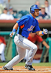 16 March 2008: New York Mets outfielder Fernando Martinez at bat during a Spring Training game against the Houston Astros at Osceola County Stadium, in Kissimmee, Florida...Mandatory Photo Credit: Ed Wolfstein Photo